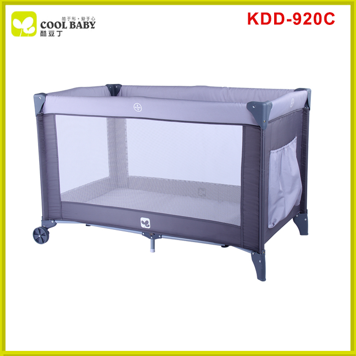 China supplier portable light weight playpen for outing baby travel cot