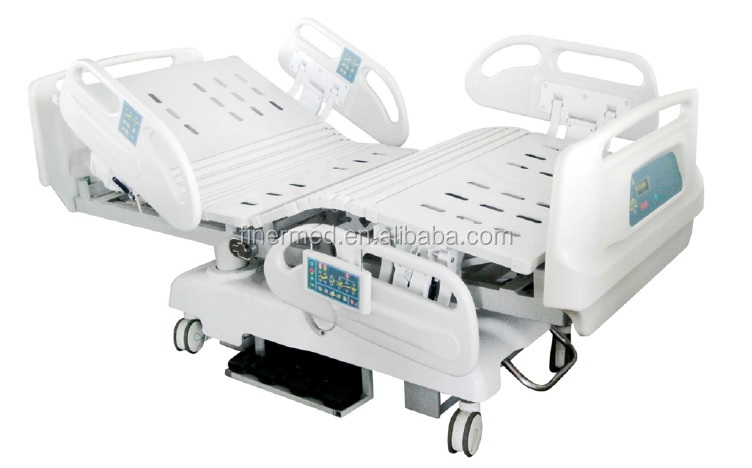 8 function ICU electric hydraulic hospital bed