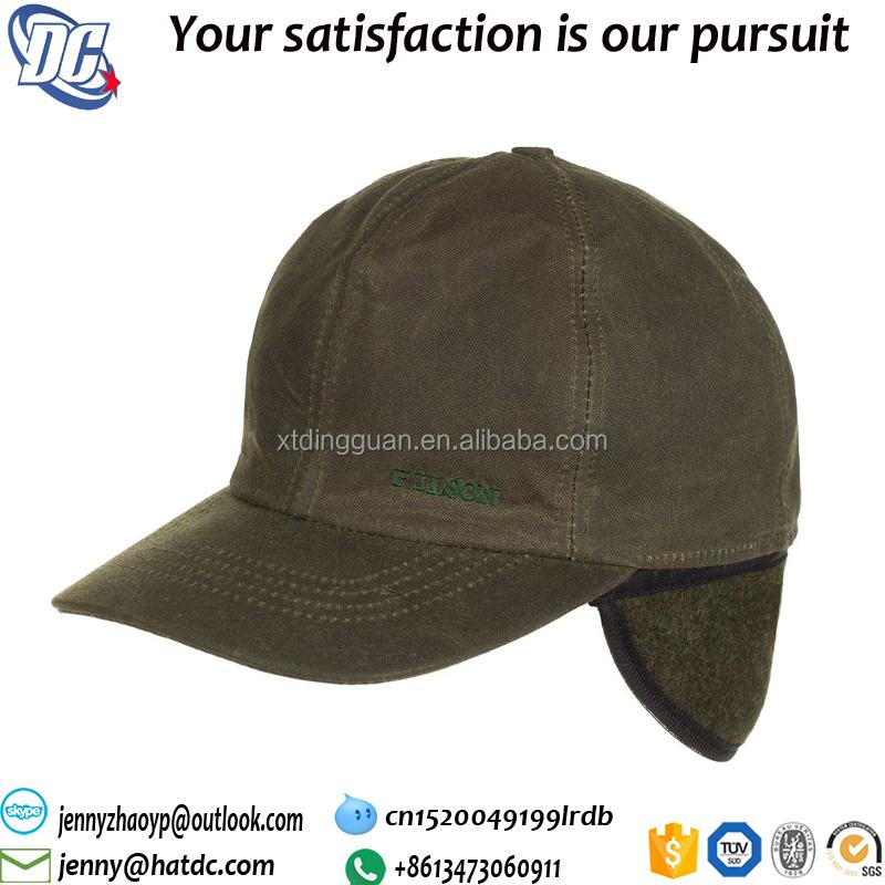 Blank 6 Panel Insulated Tin Cloth Cap Withear Muff - Buy 6 Panel ... 6ed28194b0b