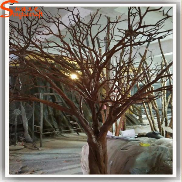 Artificielle arbre non sans feuilles branches blanches - Arbre decoratif pour mariage ...