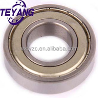 Metal shield (ZZ) Deep groove ball bearing 6001ZZ, 6001ZZ C3