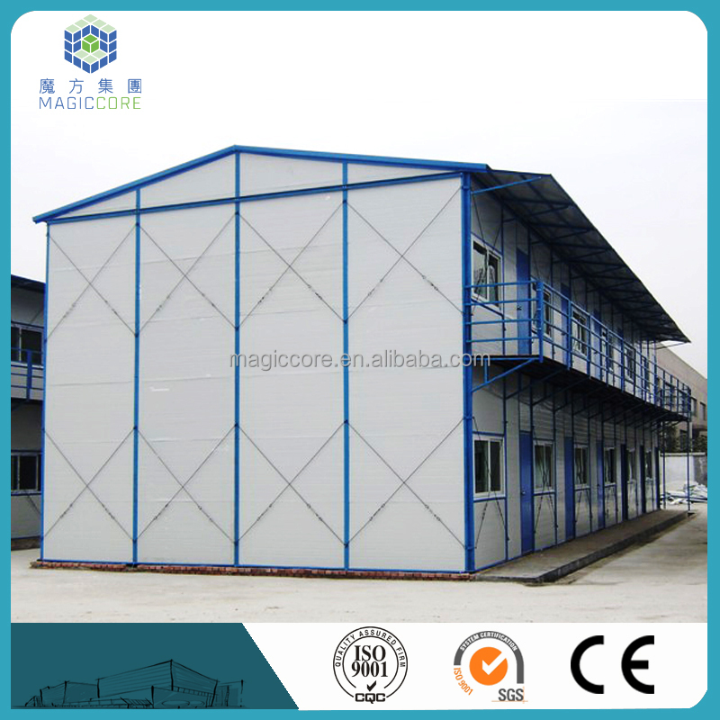 portable steel structure house collapsible housing for worker living
