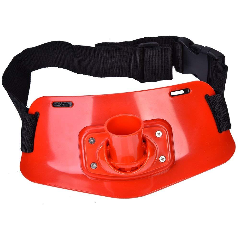 Adjustable Fishing Fighting Belt Support Stand Up Harness Waist Rod Pole Holder Dewin Fishing Belt