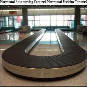 Аэропорт транспортер для багажа рольганг рабочий