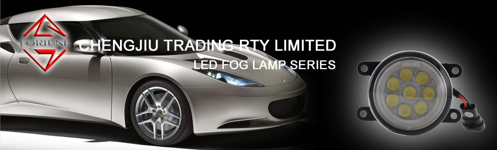 Car Led Fog Lamps Auto Parts For Toyota Harrier Hiace Innova