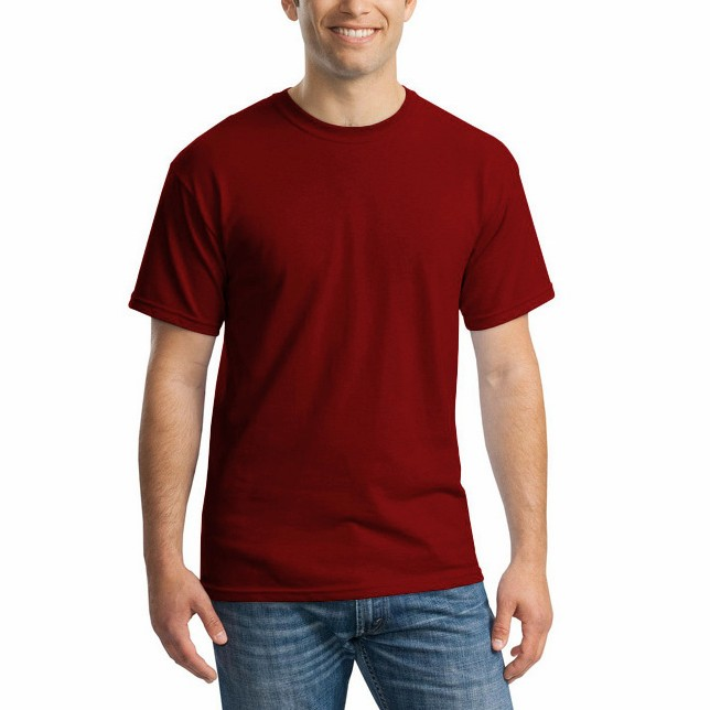 Short and Long Sleeve Essentials Men's Regular-Fit Round Neck  plain T-Shirt Casual Blouse