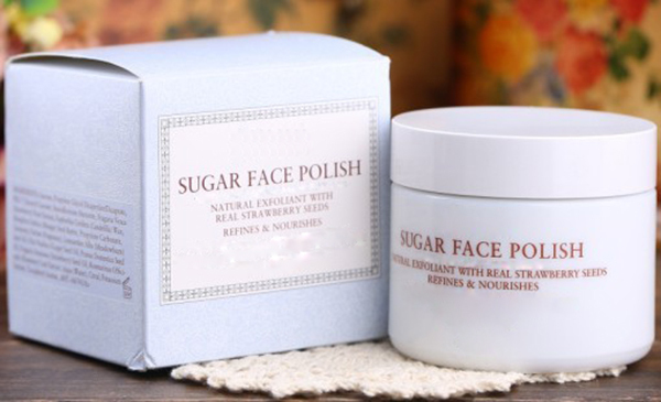 Face Firming and Whitening Sugar Scrub