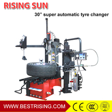 Hydraulic used car tyre fitting machine