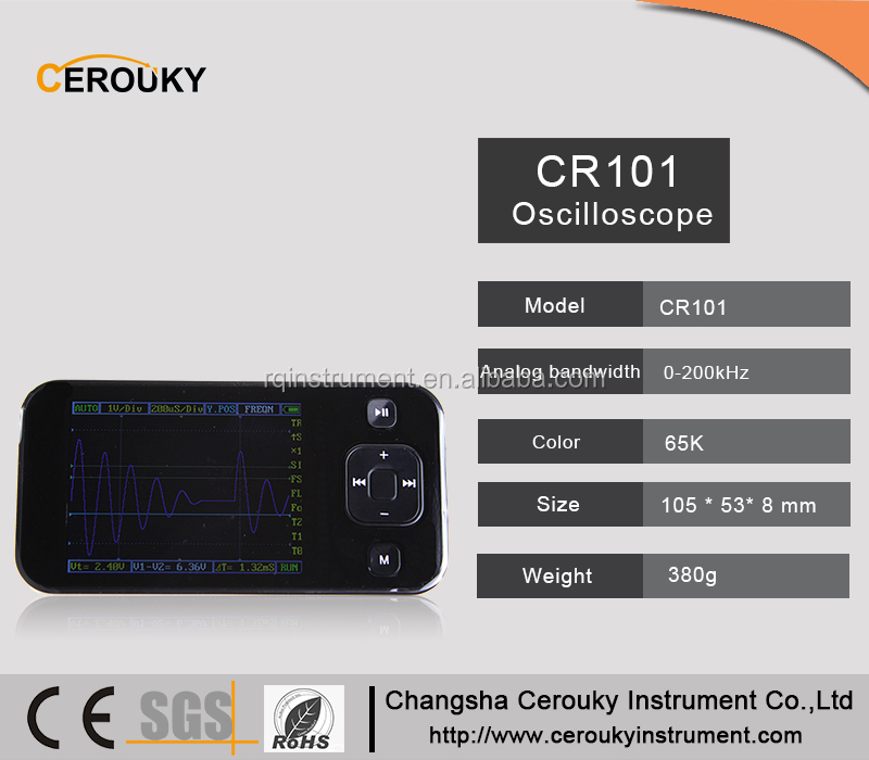 Handheld digital oscilloscope ds203 portable CR101