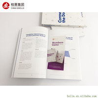 China Professional Custom High Quality Paperback Softcover Colorful Catalogue Book Printing