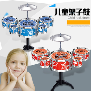 New Style Acoustic Set Professional Plastic Drum Toy For US