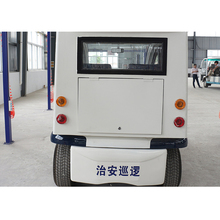 China good quality price closed security small electric patrol car