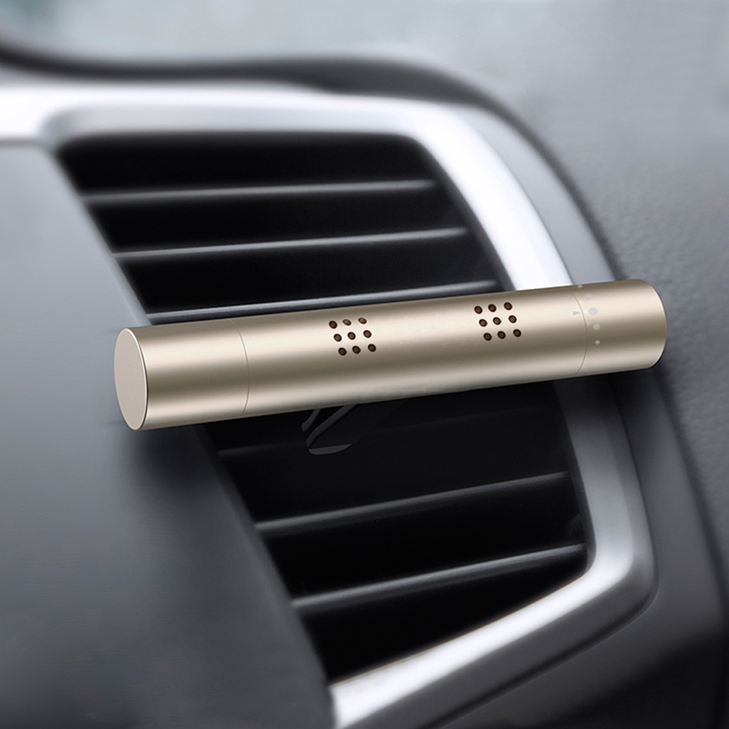 Punctual Funny Patterns Of Fragrance Footprint Printed Stainless Car Air Auto Vent Freshener Essential Oil Diffuser Gift Locket Decor Fast Color Interior Accessories