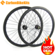 CarbonBikeKis 700C 35mm Tubeless Carbon Road Bicycle best disc brake wheelsets