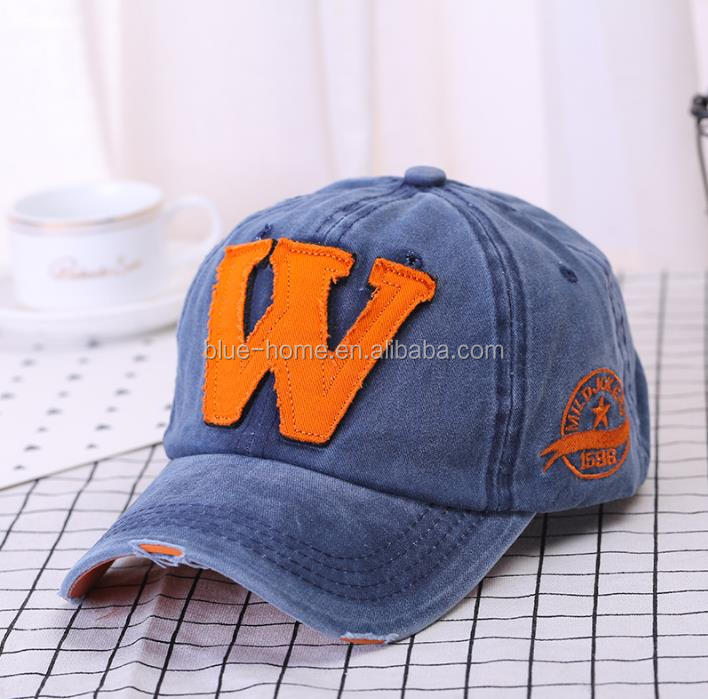 grande vente 2ccbb 33d69 Cotton Embroidery Letter W Baseball Snapback Caps Bone Casquette Fitted Hat  Custom Cap, View Custom Cap, BH Product Details from Yiwu Blue Home ...