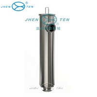 Industrial compressor sanitary filter simple and efficient tube filter housing