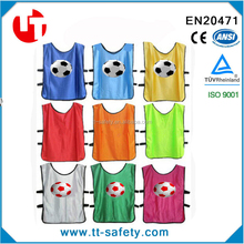 adult & kid elastic adjust soccer & football training vest bibs