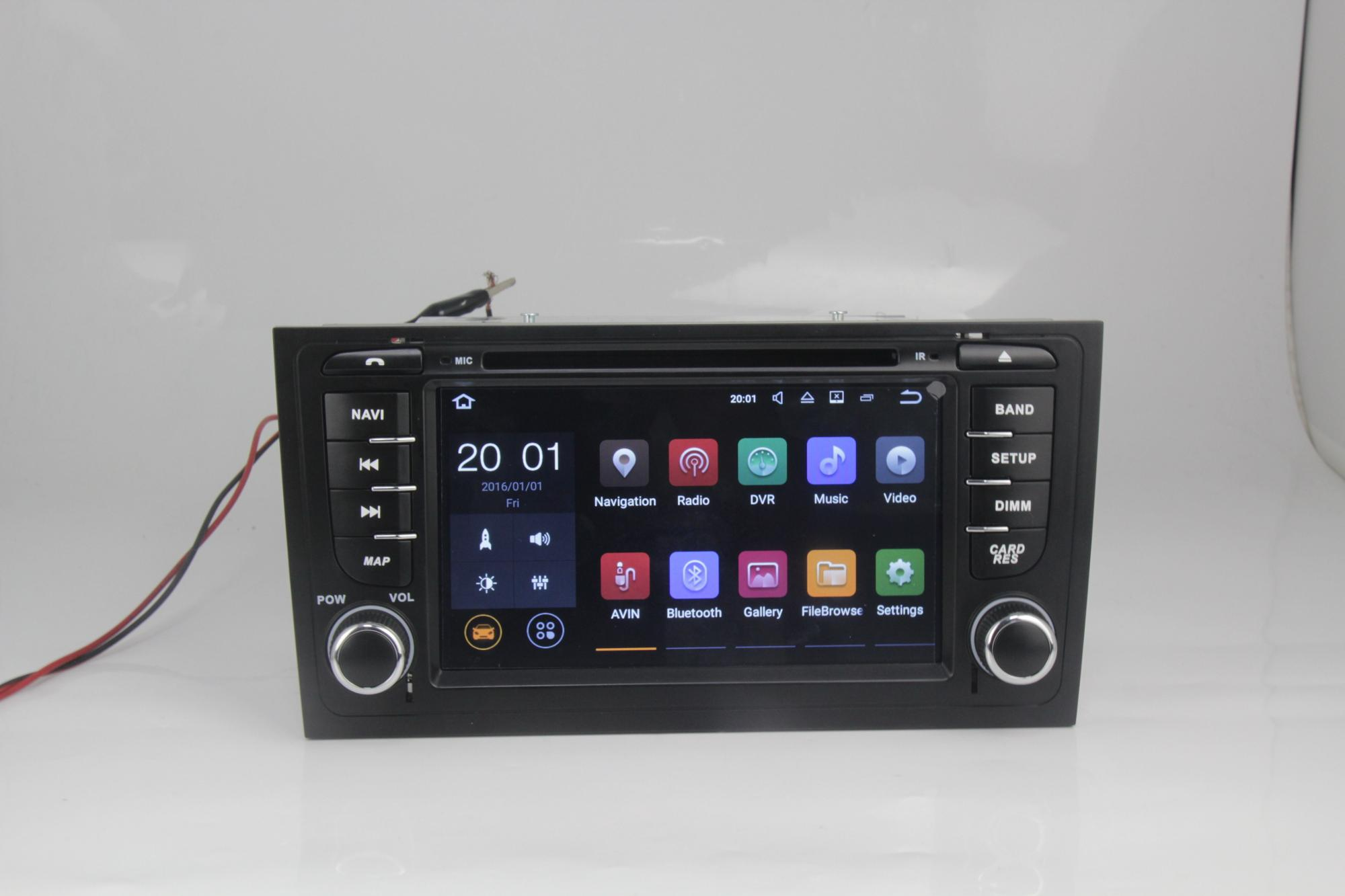 MEKEDE Android 7.1 Quad Core  Car DVD MULTIMEDIA player for Audi A6 / SEAT EXEO with 2GB RAM+16GB ROM GPS/RADIO/WIFI/1080P