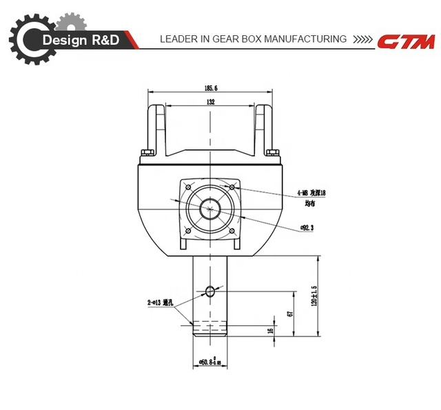 Heavy Duty Post Hole Digger Gearbox - Direct Replacement Right Angle Gear -  Buy Drilling Machine Gearboxes,Drilling Rig Gearboxes,Gearbox For Drilling