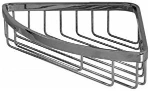 Graff G-9010 Shower Basket Corner Mount, Polished Chrome