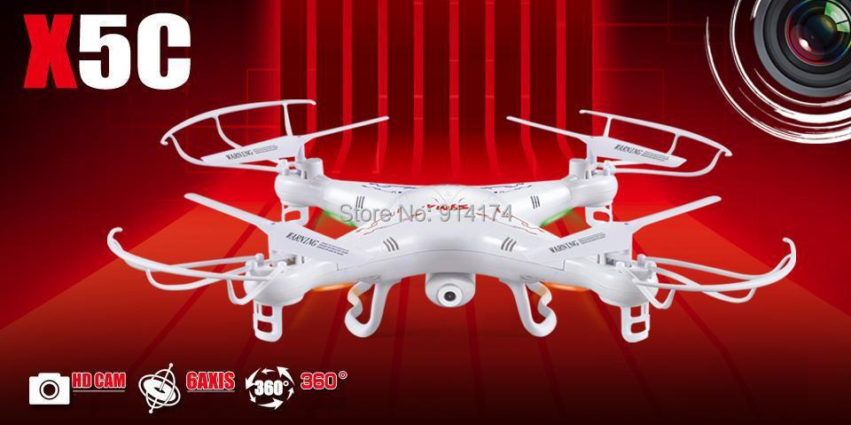 TOP Quality !! SYMA X5C 100% Original 2.4G 4CH 6-Axis Remote Control RC