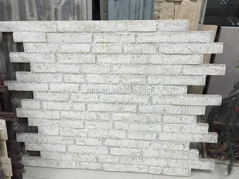 Polyurethane Foam Brick Fireproof Waterproof Faux 3 5kg Sqm Wall Tile