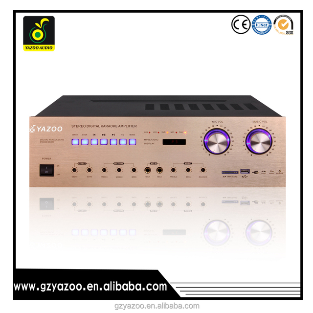 5200avcom_yazoo av-5200 4channel karaoke mixer pa power amplifier with