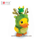 B.Duck novelty design new year gift plastic personalized dragon shaped money box