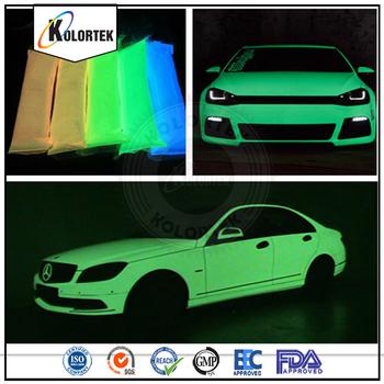 photoluminescent pigments glow in the dark car paint luminous pigment factory buy. Black Bedroom Furniture Sets. Home Design Ideas