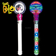 Kids Party Favor Light Up Spinning Princess Wand from China Factory