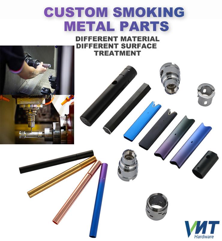 VMT Farbe Eloxiert Rot Runde Aluminium Wasserdichte Elektrische Zahnbürste Griff CNC Teile Liefern