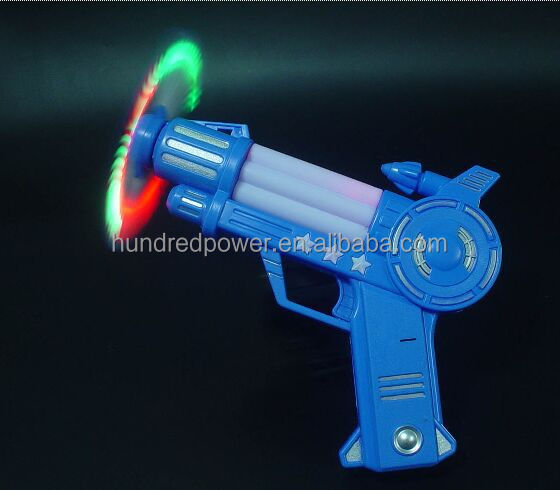 magic Flashing led light gun children toy for playing