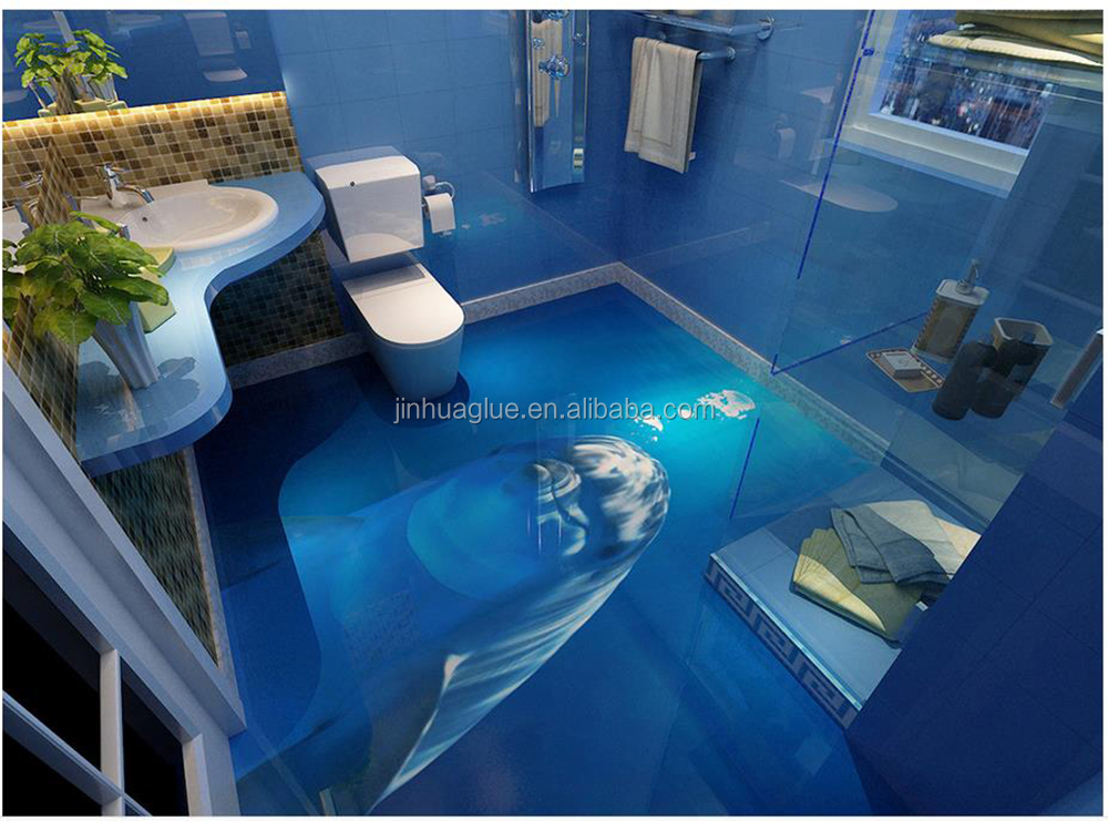 Shenzhen Jinhuaglue for 3D Epoxy Floor Paint with Factory Price