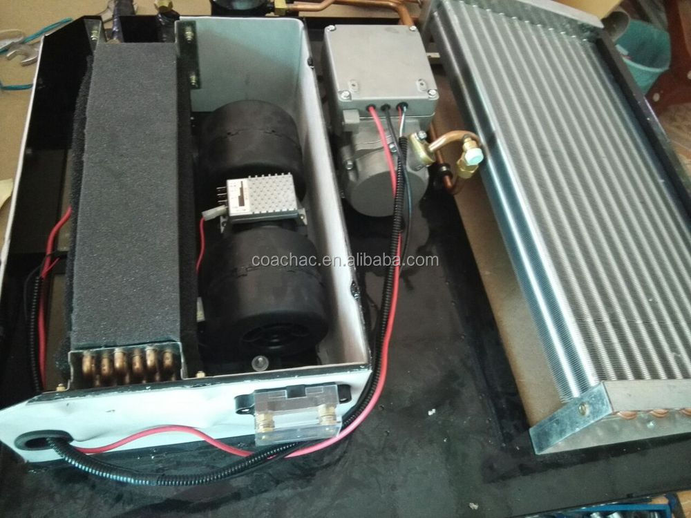 Electric Battery Dc Powered 12 Volt Roof Mounted Mini Van