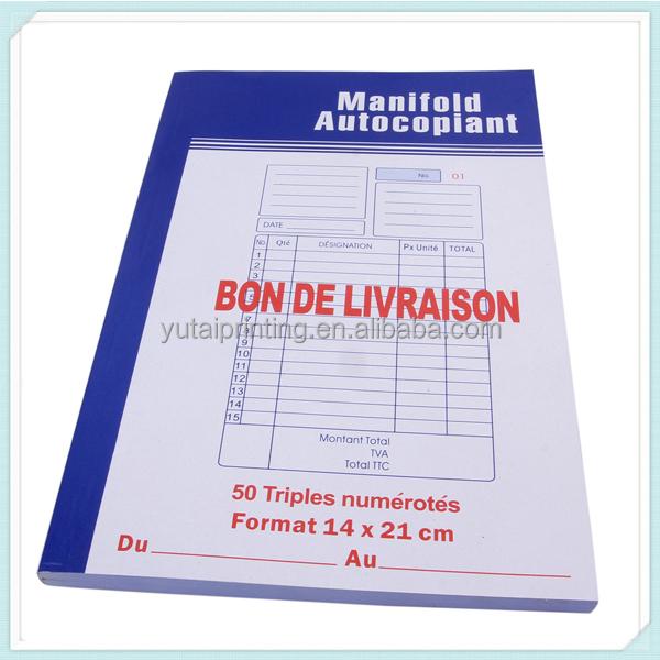 bill book samples