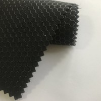 High Quality Honeycomb Grain Silicone Work Gloves Automotive Synthetic Textured Pu Material Leather