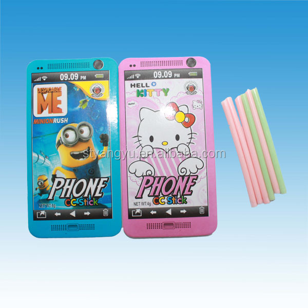 Minions and Cat Decoration Phone CC Stick Candy