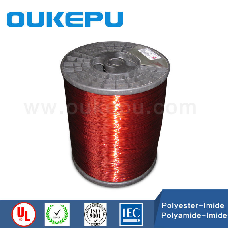 payment assuranced glazed copper clad aluminum wire with CE certificate