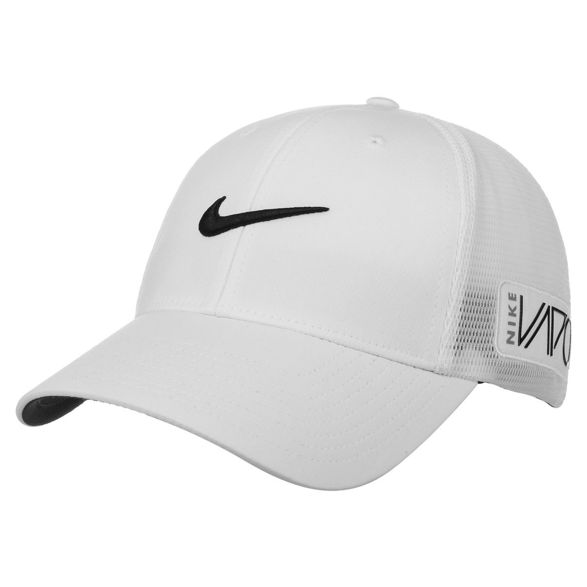 e73097e2ec6 Get Quotations · NEW Nike Tour Legacy Mesh RZN Vapor White Fitted M L Hat  Cap