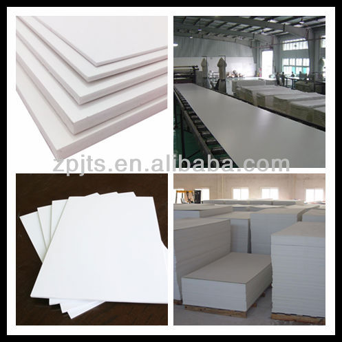 pvc foam white/black sheet/board