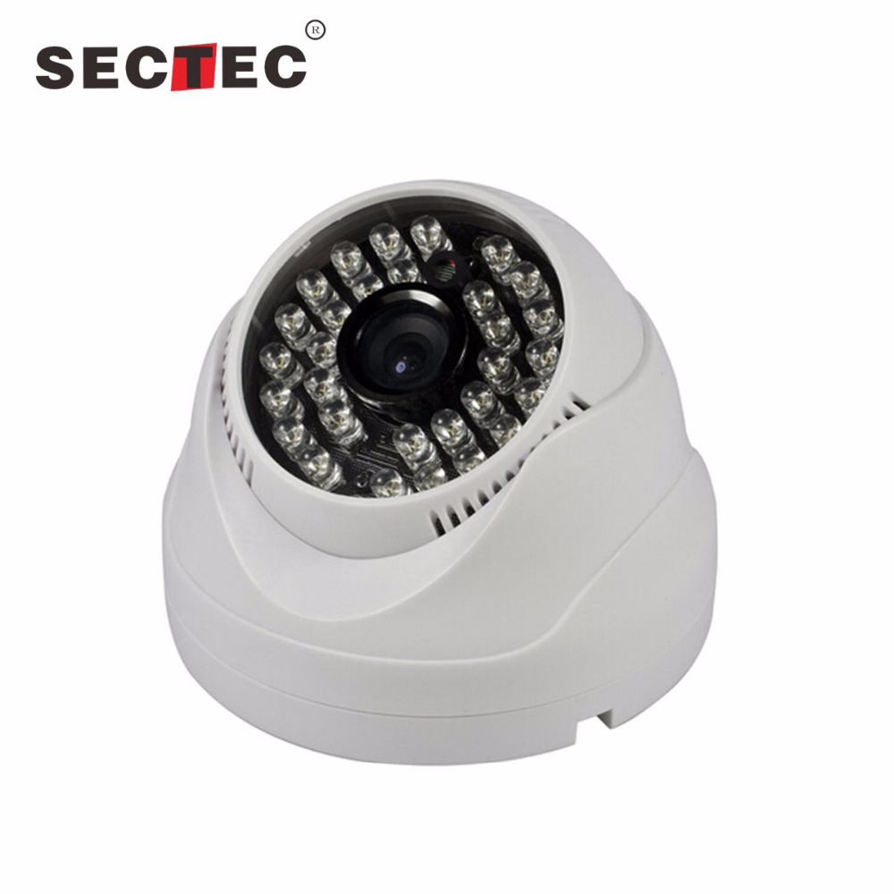 Home House cctv camera 720P 1MP Dome IP camera for shop market