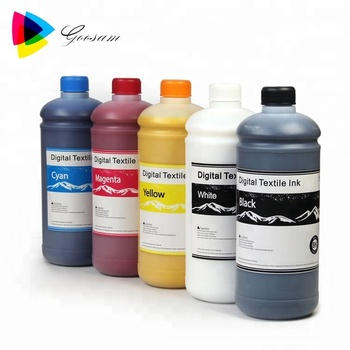Washing Resistance Dtg Textile Ink For Epson F2000 F2100 Printer - Buy Dtg  Ink For Epson F2100,Digital Textile Ink,Dtg Textile Ink For Epson F2000