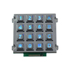 IP65 waterproof industrial keypad zinc alloy metal numeric keypad LED illuminated metal keypad for wholesales