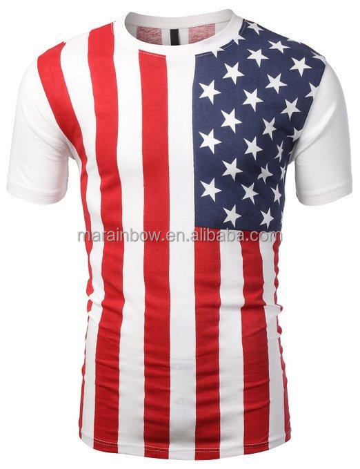 2014 Most Popular American Flag T Shirt,Printing Flag Graphic Tees ...