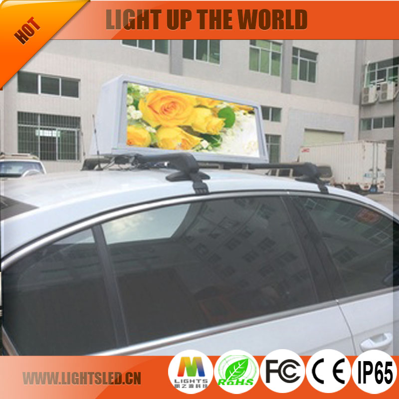 p5 taxi for hire sign taxi billboards mobile led billboard trailer sign 3g control