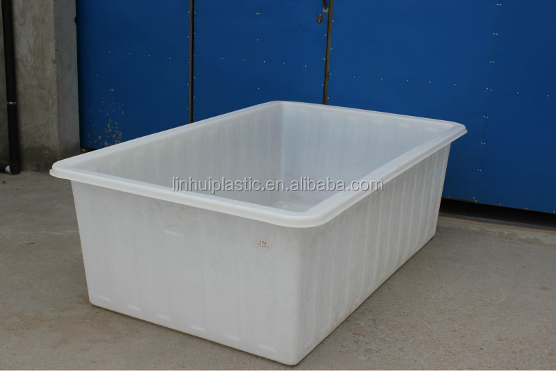 800l Rotation Large Plastic Water Storage Tank With Drain