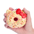 15pcs lot 10cm original package hello kitty squishy rare Jumbo Donut cell phone Strap Charm cute