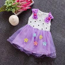 girl dress 2016 summer floral baby girl dress princess tutu dress 5 color for 1 4