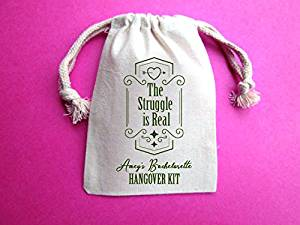Wedding hangover kit, hangover kit, hangover kit bag, bachelorette hangover kit, hangover bags,The Struggle is Real , bachelorette party hangover kit, hangover