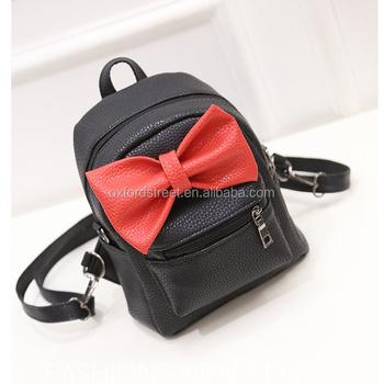 on wholesale attractive price a few days away Beautiful Girls Pu Backpacks With Red Bowtie Back To School Backpack  Wholesales Backpacks 2017 - Buy School Backpacks,Girls Fancy  Backpack,Beautiful ...
